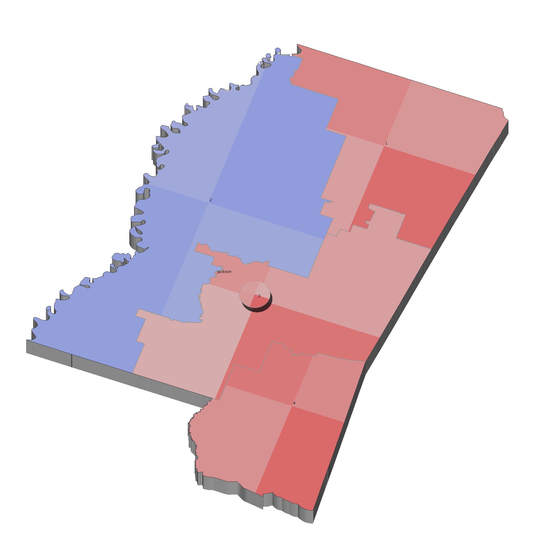 Mississippi Election Map Swimnovacom - 2016 map of us senate